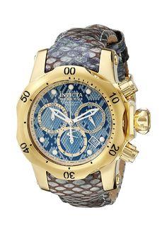 Invicta Women's 18314 Venom Analog Display Swiss Quartz Blue Watch -- Read more  at the image link.