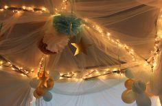 sleepover tent -