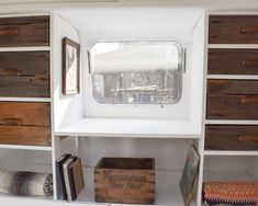 Storage in an Airstream