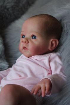 Extremely rare Sold OUT Reborn Baby Doll Saoirse By Bonnie Brown