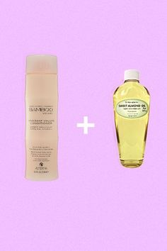 Banish Flakes: Conditioner + Almond Oil 'Tis the season of many things worthy of celebrating, but dry scalp is not one of them. Unfortunately, during the winter months, it's par for the course for many of us. Before swapping your favorite shampoo for a medicinal anti-dandruff formula, try adding a couple drops of almond oil into your conditioner, rubbing it into your scalp, and leaving it in for a few minutes before you rinse. After a few washes, your scalp will be moisturized and…