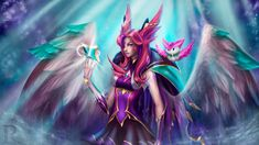 Xayah star guardian by Erobertix on DeviantArt - League of Legends Lol League Of Legends, League Of Legends Characters, Age Of Mythology, Miss Fortune, Gato Anime, Little Games, Neon Aesthetic, Fan Art, Cosplay