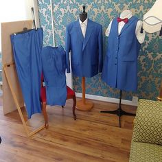 Here we have a women's trouser and waistcoat suit and bowtie for a bride and a suit for the father of the other bride. . . . . . . . .  karlusg-tailor.co.uk  Allaboutewe.co.uk Fabric  @batemanogden918 @harrisons1863  #suit #jacket #waistcoat #bowtie #bespoketailoring #bespoke #womensuit  #handcrafted #custom  #tailor  #madeinuk  #menswear #womenswear #wedding #bride #birmingham #british #JQ #style #fatherofthebride #photograph #fashionshow #karlusgstudio #allaboutewe #hilsdmd #karlusgtailor… Bespoke Suit, Bespoke Tailoring, Suits For Women, Women Wear, Made In Uk, Father Of The Bride, Trousers Women, Birmingham, Wedding Bride