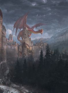 Dark art, Fantasy and music for any open minds. Fantasy Rpg, Medieval Fantasy, Fantasy Artwork, Fantasy World, Dark Fantasy, Magical Creatures, Fantasy Creatures, Illustration Fantasy, Dragon Artwork