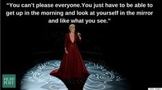 I love this! As long as you like what you see in the mirror, who cares what others think of you? You gotta do you! - 9 Times P!nk Proved That Every Woman Should Be Able To Define Herself