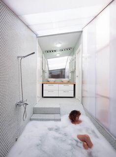 regardsetmaisons: Match douche/baignoire