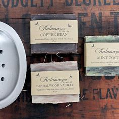 Men's Handcrafted Soap Gift Set - Kalamazoo Gift Company