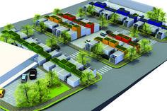 Habitação de Interesse Social Sustentável,Cortesia de 24.7 Arquitetura