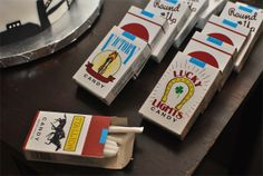 candy cigs for mad men party