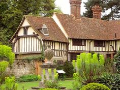 Laundry Cottage, 15th Century medieval house in the grounds of Ightham Mote, Kent, Uk, available to rent