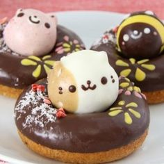 Les donuts animaux