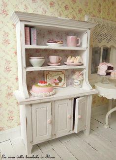 Miniature kitchen details