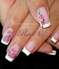 It`s all about nails: Piglet #nail #nails #nailart