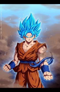 Super Saiyan God Super Saiyan Goku by belucEn.deviantart.com on @DeviantArt