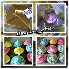 ***DÉBORA ACOSTA***DEMARE_ARTE***: Cupcakes