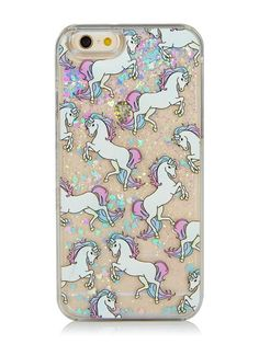 Skinnydip iPhone 6/6S Unicorn Glitter Case