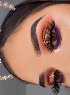 51 best eyeshadow looks, eye makeup, eyeshadow … – Makeup Makeup Eye Looks, Cute Makeup, Glam Makeup, Gorgeous Makeup, Pretty Makeup, Makeup Tips, Makeup Ideas, Sleek Makeup, Clown Makeup