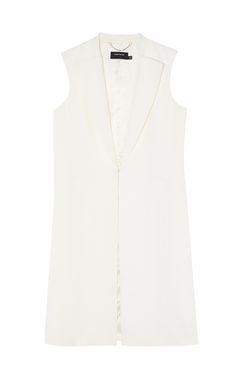 Bekleidung | Weiß Moderne taillierte Weste für besondere Anlässe | Damenmode | Karen Millen