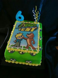 Torta Johnny Test Johnny Test cake