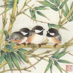 Sumi E Painting, Lotus Painting, Korean Painting, Japanese Painting, Chinese Painting, Chinese Art, Japanese Art, Watercolor Paintings, Bird Illustration