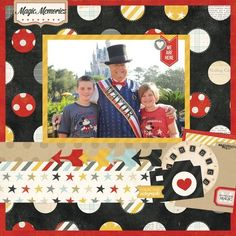 This fun layout was created using products from the Simple Stories Say Cheese collection. Designed by Simple Stories design team.