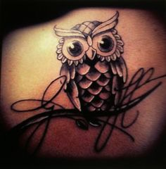 80 Cute Owl Tattoo Designs to Ink | http://animals.ekstrax.com/cute-owl-tattoo-designs-to-ink/