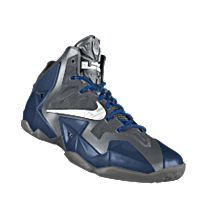 NIKEiD. Custom LeBron 11 iD Basketball Shoe