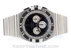 Omega Constellation Double Eagle watch from keepthetime.com