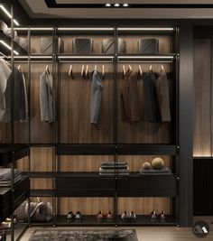 North Penthouse Pt lV is part of Closet designs Architecture,Interior Design,Industrial Design - Glass Wardrobe, Wardrobe Design Bedroom, Bedroom Bed Design, Bedroom Wardrobe, Master Bedroom, Closet Walk-in, Dressing Room Closet, Dressing Room Design, Closet Ideas