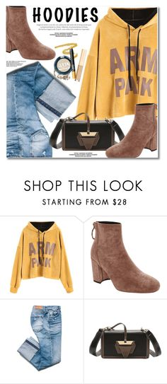 """""""In My Hood: Cozy Hoodies"""" by svijetlana ❤ liked on Polyvore featuring Hoodies and zaful"""