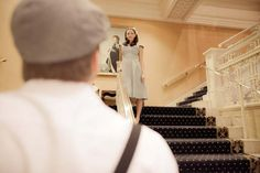 Titanic-inspired engagement picture - so romantic!