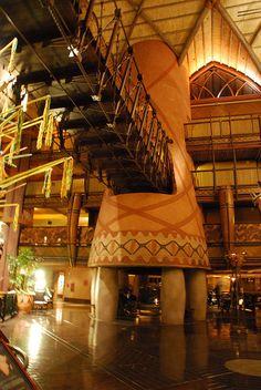 Disney's Animal Kingdom Lodge, Walt Disney World Fire Place