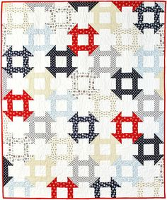 Dutch Dash quilt by Kelly Bowser | Fons and Porter