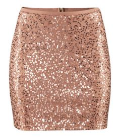 H Sequin Skirt