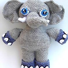 Patrón La elefante Eli