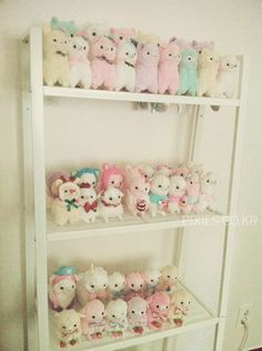 Pixie's Alpacasso collection :D ♥ Beige Rhinedeer and Pirate YUKI, Party YUKI, Sweets alpacas from Rosy's garden all the rest of Alpacasso by AMUSE from Japan :D ♥