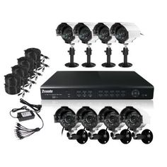 ZMODO DVR-DK61102-1TB 16 CH Security Surveillance DVR Outdoor Security Camera System 1TB by Zmodo. Save 24 Off!. $571.99. The kit DVR-DK61102-1TB includes a H.264 standalone DVR with 1TB HD and 8 outdoor security cameras providing everything you need to have your surveillance system up and running in your home or business quickly and easily.  The DVR-H9116UVDH is a 16 channel, fully integrated, real time, and hardware based standalone digital video recorder. With PTZ camera control…
