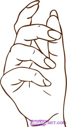 how to draw hands step by step for pinterest | How to Draw a Hand, Step by Step, Hands, People, FREE Online Drawing ...