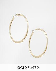 Pilgrim Gold Hoop Earrings