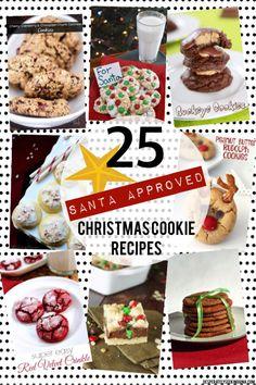 Christmas Cookie Roundup | Santa Approved via Desperately Seeking Gina