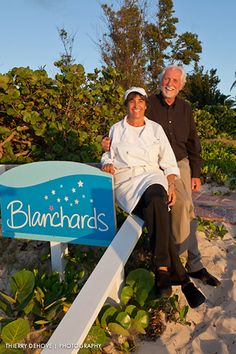 Blanchards - Anguilla.  Eat their food and read their books!