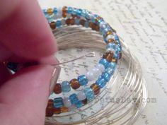 loopdonewm 550 x 413 How To Make a Wrap Bracelet