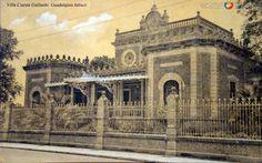 Villa Cuesta Gallardo  Guadalajara Jalisco por el editor Juan Kaiser