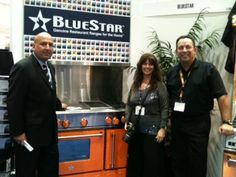 BlueStar VP of Sales John Novella with representatives of the Retail Observer