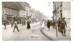 Samedi 16 septembre 1944, les GI's du 1er bataillon du 15th Infantry Regiment traversent  la ville de Lure (Haute Saône) en libérateurs, après 4 longues années d'occupation (zone interdite)