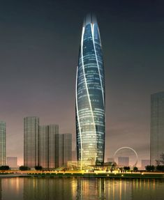 China's Blossoming #Skyscraper Inspired by a Rosebud