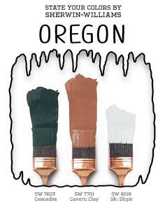 Mount Hood, House Color Schemes, Ski Slopes, David Hockney, Skiing, Wildlife, Instagram, Paint Colors, Eye