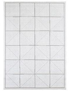 Alfombra para exterior & interior Metro Blanco