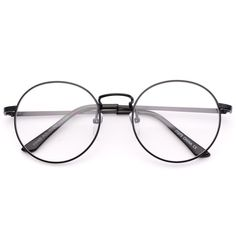 Blaine round metal clear lens circle glasses (110 BRL) ❤ liked on Polyvore featuring accessories, eyewear, eyeglasses, glasses, sunglasses, acc / glasses, accessories - all, round lens glasses, round metal glasses and round eye glasses