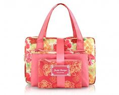 3 Piece Gift Pack: Miss Cherie Royal Floral Pattern Cosmetic Bags Set - FREE SHIPPING